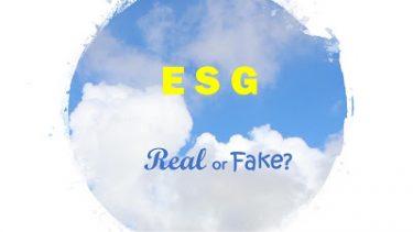 ESG リアル or フェイク?
